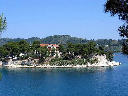 History of Skiathos